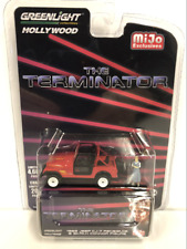 The Terminator Sarah Connors Jeep with Figure 1:64 Scale Greenlight
