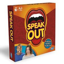 Hasbro Gaming Speak Out Game Incl 200 cards + 5 mouthpieces