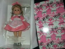 """1990's 8"""" Vogue Ginny Doll """"Car Hop"""" Original Box & Stand unplayed with Nrfb"""