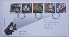 GREAT BRITAIN FDC 100 YEARS OF GOING TO THE PICTURES 1996