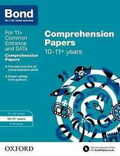 Bond 11+: English Comprehension Papers: 10-11+ years (Paperback),. 9780192742346