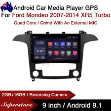 """9"""" Android 9.1 Car Stereo Media Player GPS Head Unit For Ford Mondeo XR5 Turbo"""