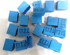 20x 100nF x 2 Condensatore Siemens b81121-c-b125 Polipropilene 15Mm 104 250VAC