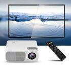 1080P HD LED Projector Multimedia Home Theater Cinema AV VGA USB HDMI 16:9 Lot