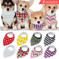 4pcs/Lot Dog Neckerchief Bibs Healthy Protect Dog Bandana Collar for Chihuahua