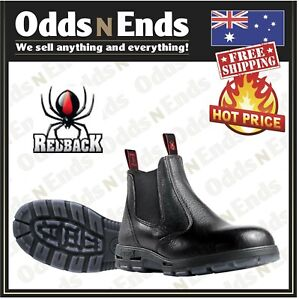 USBBL Redback Work Easy Escape Elastic Sided Boots STEEL Cap Safety AUS MADE NEW
