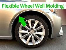For FIAT 2009-2018 Models - Set of 4 Chrome Fender Wheel Well Trim Molding