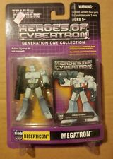 Transformers Heroes of Cybertron MEGATRON G1 Collection PVC MISP HOC