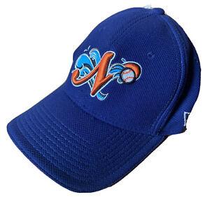 2008 - 2015 NORFOLK TIDES BASEBALL CAP HAT, NEW ERA, NORFOLK, VA, SMALL - MEDIUM