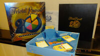 Trivial Pursuit 20th Anniversary Edition Board Game *Complete*