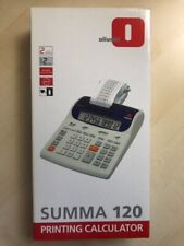 Olivetti Summa 120 Calcolatrice Stampa da Scrivania - Stampa da scrivani - Blu/Bianco