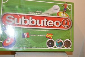 JEU SUBBUTEO EDITION EQUIPE NATIONALE FRANCE-ESPAGNE COMPLET + EQUIPE BRESIL