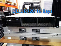 Dell R720 Server 16x2.5 Bays 2x E5-2620 12 Core total 32GB RAM H710p 750W
