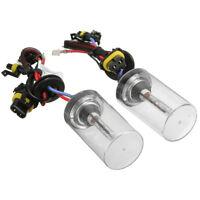 2 x 55W Xenon HID Ampoules de remplacement en metal de base H7 8000K PhareR9B1