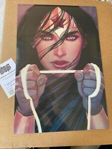 Jenny Frison Wonder Woman Rebirth #25 Cover 3D Lenticular Print 16x24 S/O 1mm