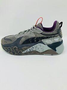 Puma RS-X 'Mothman' Black Asphalt Grey Running Sneaker Shoe Size 9,9.5,10,10.5