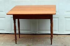 Antique Sheraton Table Drop Leaf Cherry