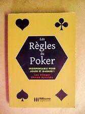 Les règles du Poker Indispensable pour jouer et gagner /Z125