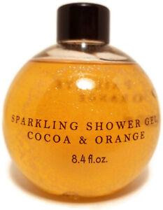Yves Rocher NO SPARKLE Cocoa & Orange Shower Gel Body Wash 8.4 fl oz 250 ml 2016