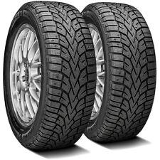 2 New General Altimax Arctic 12 22550r17 98t Xl Winter Snow Tires Fits 22550r17