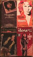 The Doors VHS Lot Of 4 (Biographical Film, Europe 1968, Hollywood Bowl, Tribute)