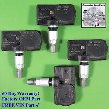 Set of 4 Mazda TIRE PRESSURE SENSOR MONITOR TPMS OEM FE01-37140 315 MHz SET-TS66