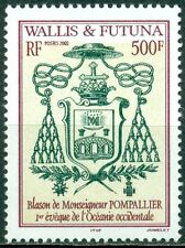 Wallis & Futuna Scott #550 Mnh Arms of Bishop Pompallier Cv$13+
