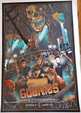 2015 THE GOONIES HEY YOU GUYS SILK SCREEN MOVIE POSTER MONDO KELLY #/325
