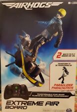 2-in-1 Extreme Air Hogs Air Board Transforms from RC Stunt Board to Paraglider