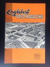 Revue Fascicule Englebert Velo magazine N° 11 1951