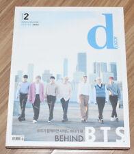 BTS BANGTAN BOYS Behind the scene D-icon DISPATCH MAGAZINE + POSTCARD SET SEALED