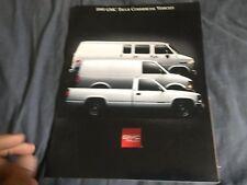 1995 GMC Sierra and Sonoma Commercial Trucks Original Brochure Catalog Prospekt