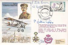 C55c 2nd Lt E Thieffry.Signed.Prince Antoine de Ligne. WW11 Pilot & P Down B of