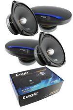 "2 Pair 6 x 9"" Car Audio Mid Range Full Range Speakers 4 Ohm 800W Logic LMB694PP"