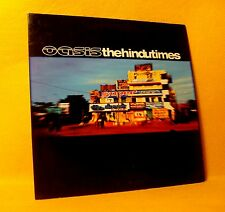 Cardsleeve single CD Oasis The Hindu Times 2 TR 2002 Brit Pop Alt. Rock