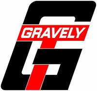GRAVELY TRACTOR VINYL DECAL STICKER - GT - SET OF 2