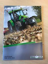 Deutz Fahr 5 Series Tractors Sales Brochure
