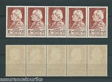 ALFRED FOURNIER - 1946 YT 748 bande - TIMBRES NEUFS** LUXE