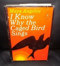 I KNOW WHY THE CAGED BIRD SINGS  MAYA ANGELOU  FIRST EDITION  1ST/1ST  HC/DJ