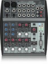 Behringer XENYX 1002 Mischpult Mixer Equipment 10 Kanal 2Bus Preamps Effekte OVP