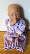 Lee Middleton Reva Doll Newborn Nursery Cloth Vinyl Sucks Thumb Blue Eyes 2000