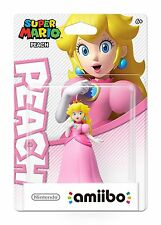 Peach Amiibo [For Nintendo Wii U, Super Mario Game Princess Toadstool] NEW