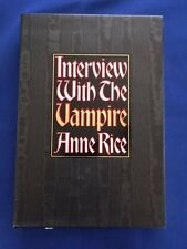 INTERVIEW WITH THE VAMPIRE: TWENTIETH ANNIVERSARY EDITION - SIGNED BY ANNE RICE