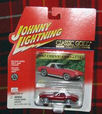1967 Chevy Corvette Johnny Lightning  Classic Gold  Series 404-08