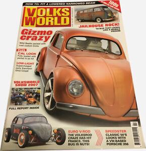 Volks World Magazine - July 2007 - BEETLE BUG BUS KOMBI VW CAMPER