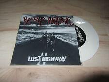 """FRANTIC FLINTSTONES Lost Highway 7"""" Vinyl Psychobilly Neo-Rockabilly Meteors"""