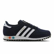 Adidas Originals LA trainer Mens Navy Blue Rare US-8 Los Angeles Trainers New