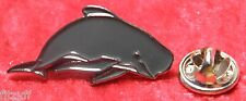Pilot Whale Lapel Pin Badge Brooch