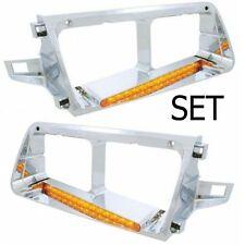 Freightliner FLD Headlight Bezel Set14 LED (Left & Right)