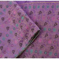 "Tcw  Vintage Satin Silk Woven Brocade Design Fabric Decor Craft 45""X45"""